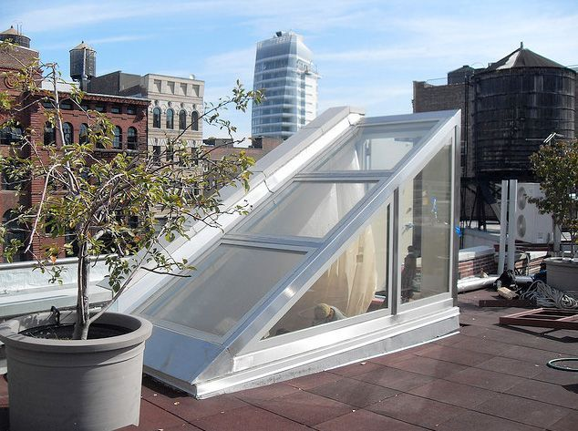 entry to a rooftop patio - Google Search
