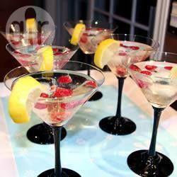 Martini de pêssego @ allrecipes.com.br