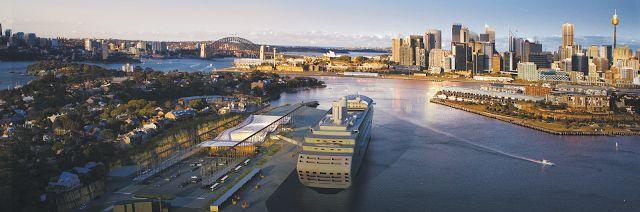 Cruise Sydney: White Bay Cruise Terminal