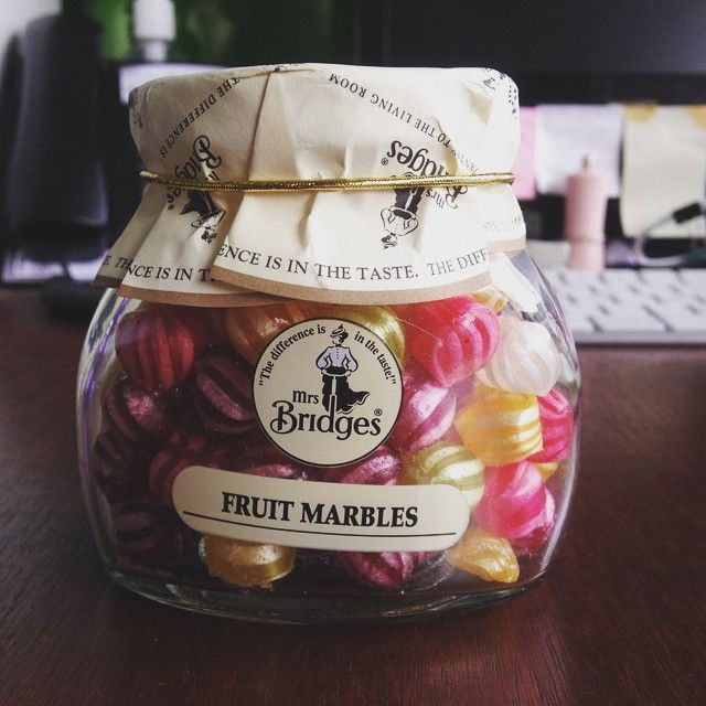 Little did I know Mrs Bridges got fruit marbles aside from jams and marmalade #noms #sweets #candids #mrsbridges