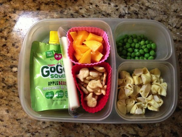 Packing lunch for a #preschooler #healthykids