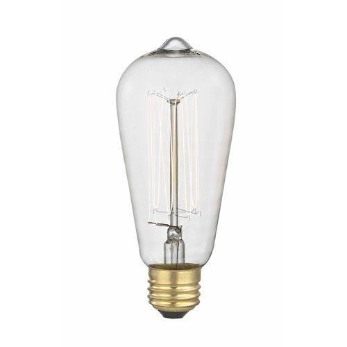 Design Classics Lighting Victorian Nostalgic Squirrel Cage Vintage Edison Light Bulb - 40-Watts | 40ST58 FILAMENT | Destination Lighting