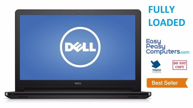 NEW DELL Laptop Computer 15.6 Touchscreen Windows 10 Webcam WIFI (FULLY LOADED) #Dell