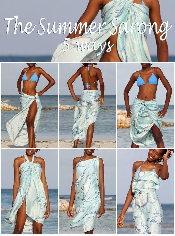 5 ways to wear sarong www.pinkhousemust…