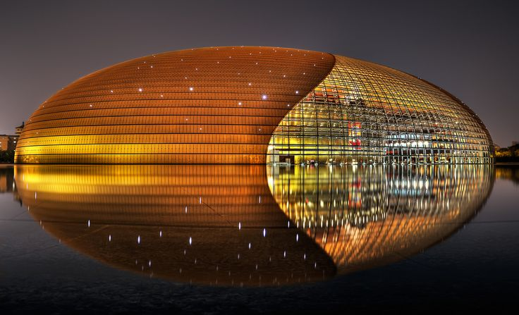 National Centre for the Performing Arts in Beijing, China.