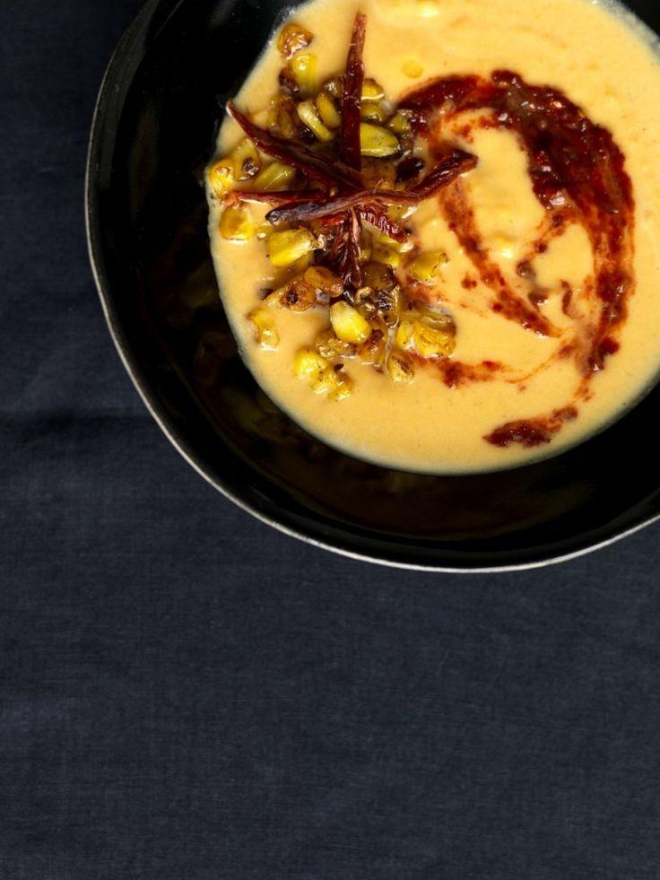 yogurt corn soup with harissa yogurt corn soup with harissa yogurt ...