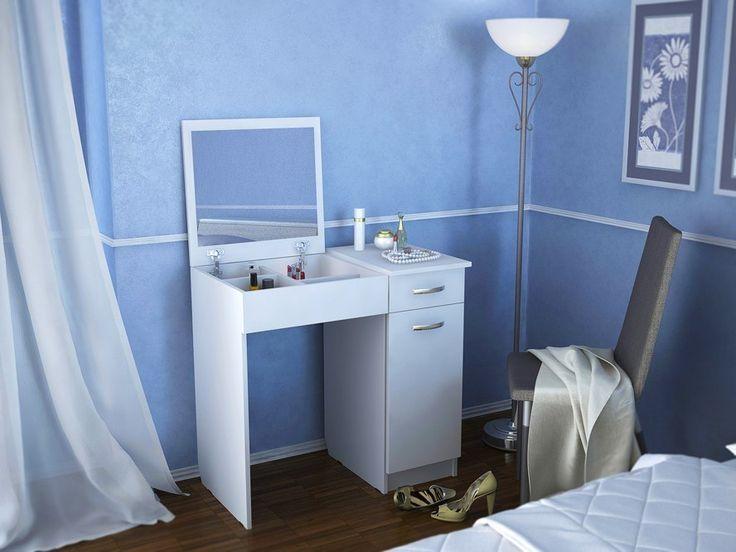 Туалетный столик с зеркалом Риано-4 Белый