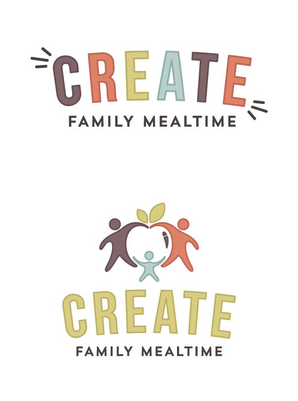 Create Family Mealtime Logo