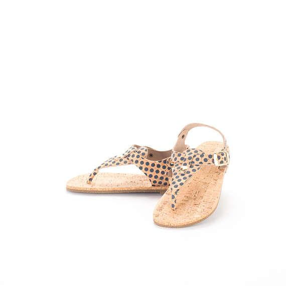 #Cork #sandals with #sole in cork FREE SHIPPING WORLDWIDE /