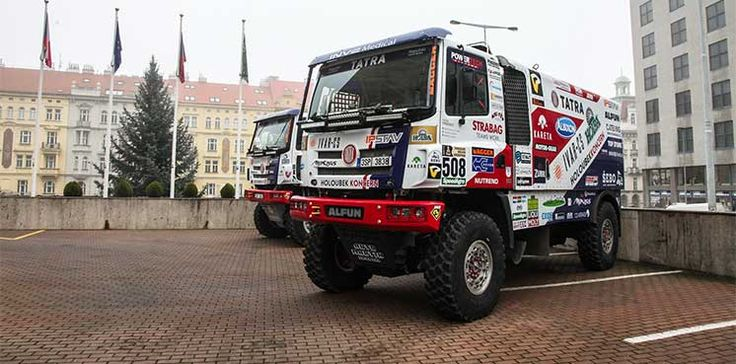Tatra Buggyra Racing leaves with the strongest team. Kolomý and Loprais want to grab a Bedouin