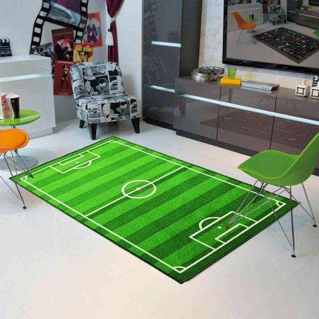 Play Rug Boys Football Pitch Childrens Rug Green: Best 25+ Football Field Ideas On Pinterest
