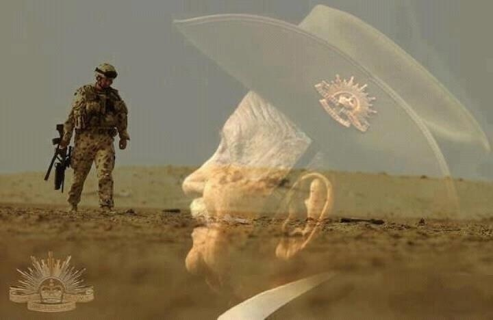 ANZAC Day - 25th April...this photo is amazing...really gives the feel of ANZAC Day.