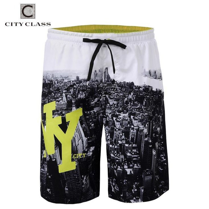 City Class 2016 Mens Summer New Leisure Wild Loose Beach Shorts Regular Length Bermuda Masculina European Size Boardshorts 1743 - 10 MINUS