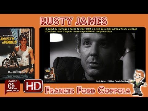 Rusty James de Francis Ford Coppola (1983) #MrCinema 225