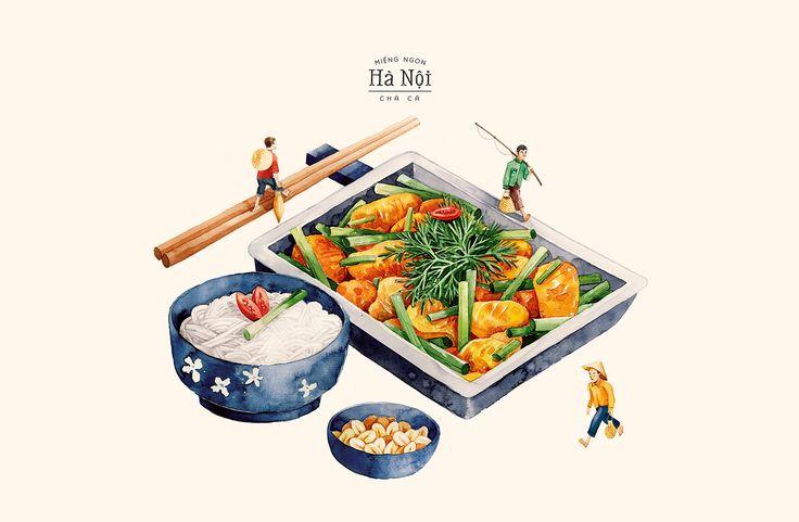 A Taste of Hanoi on Behance