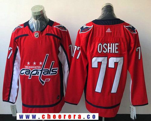 5026bb2a0 ... where to buy mens washington capitals 77 t.j. oshie red home 2017 2018  adidas hockey stitched