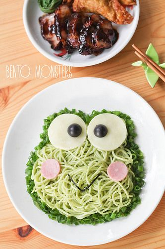 Bento, Monsters: Keroppi Noodles & Philips Noodle Maker