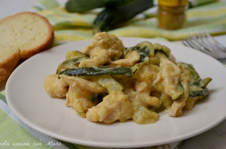 Straccetti+di+pollo+con+zucchine
