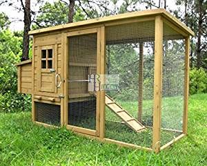 Imperial Wentworth Pollaio Gabbia per Pollo Grande Conigliere - Può Contenere Fino a 4 Uccelli a Seconda dei suoi Dimensioni – con Recinto, Vassoio e una Sistema Innovativa di Bloccaggio