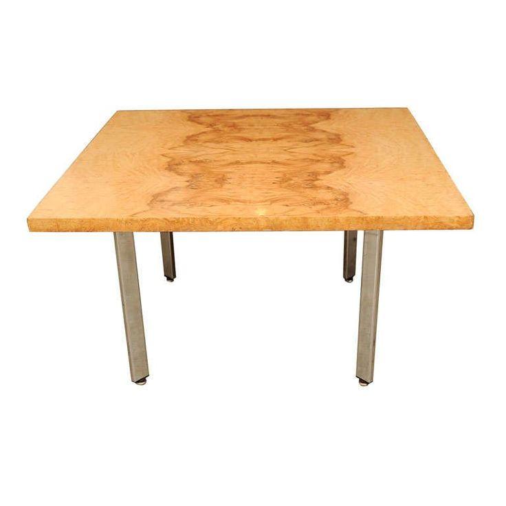 Vintage Burl Wood Slab Coffee Table At 1stdibs: 762 Best Beautiful Milo Baughman Images On Pinterest