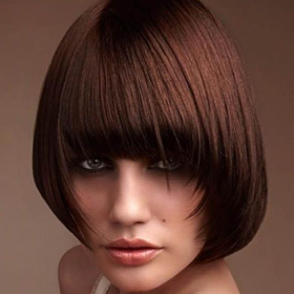 blunt haircuts with bangs 626 best thick bangs images on hairdos 5165