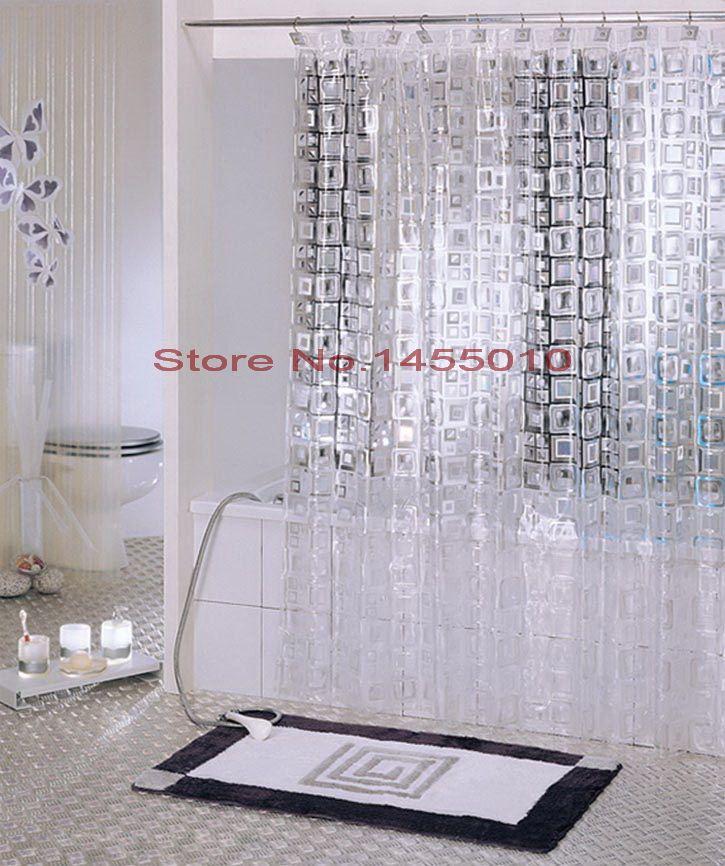 Пластиковые тиснение EAV полупрозрачный водонепроницаемый сгустите занавески для…