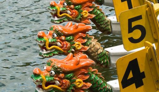 What is dragon-boat racing?