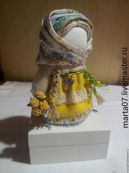 """Народные куклы ручной работы. Ярмарка Мастеров - ручная работа. Купить Кукла """"Желтая роза"""". Handmade. Кукла ручной работы"""