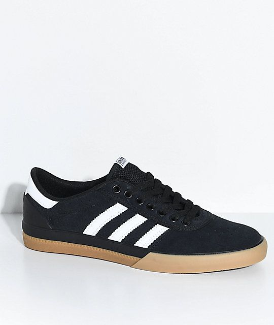 adidas Lucas Premiere ADV Black, Grey & Gum Shoes | Men's
