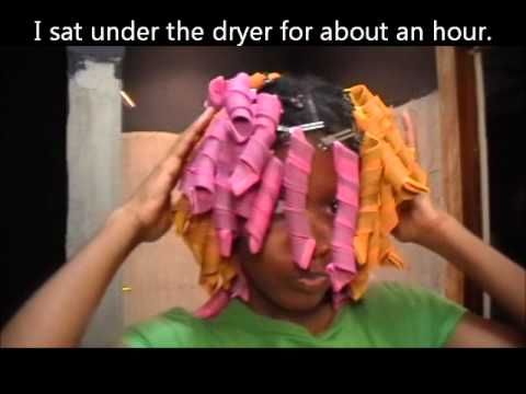 World's funniest video on: how NOT to use curlformers, a fail tutorial.