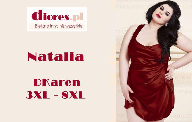 Klasyczna satynowa halka nocna do rozmiaru 56 to propozycja dla Pań o pełniejszych kształtach, które pragną wyglądać zmysłowo i elegancko w sypialni. Zobacz naszą ofertę bielizny w większych rozmiarach na www.diores.pl #bieliznadamska #bieliznanocna #XXL #figi #biustonosz #halka