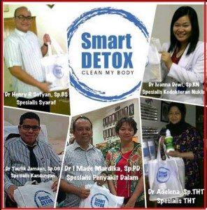Smart Detox Rekomendasi Para Dokter Spesiali dan ahli