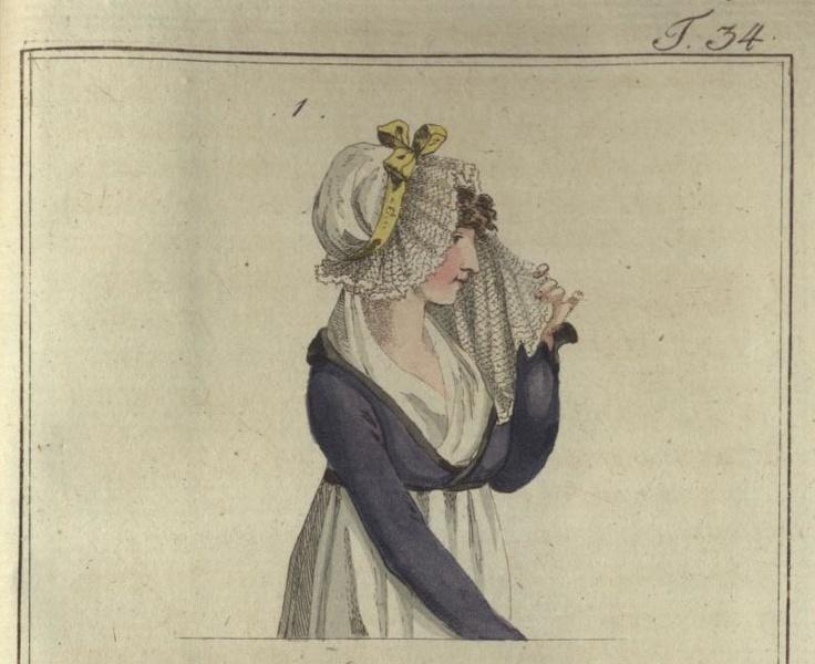 December 1800, Journal des Luxus und der Moden