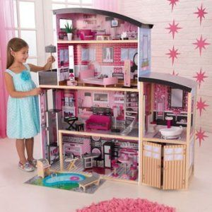 Kidcraft Sparkle Large Wooden Dollhouse - InfoBarrel Images