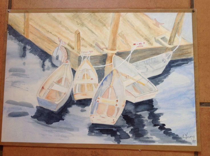 1st watercolor 2007