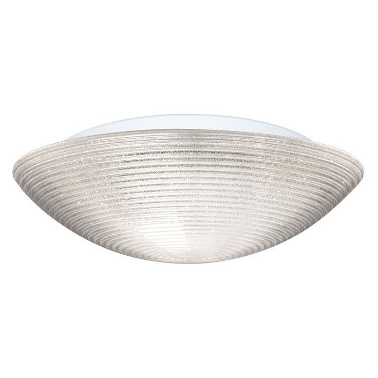 Besa Glitter Ceiling Flush Mount Light with Opal Glossy Glass - 911