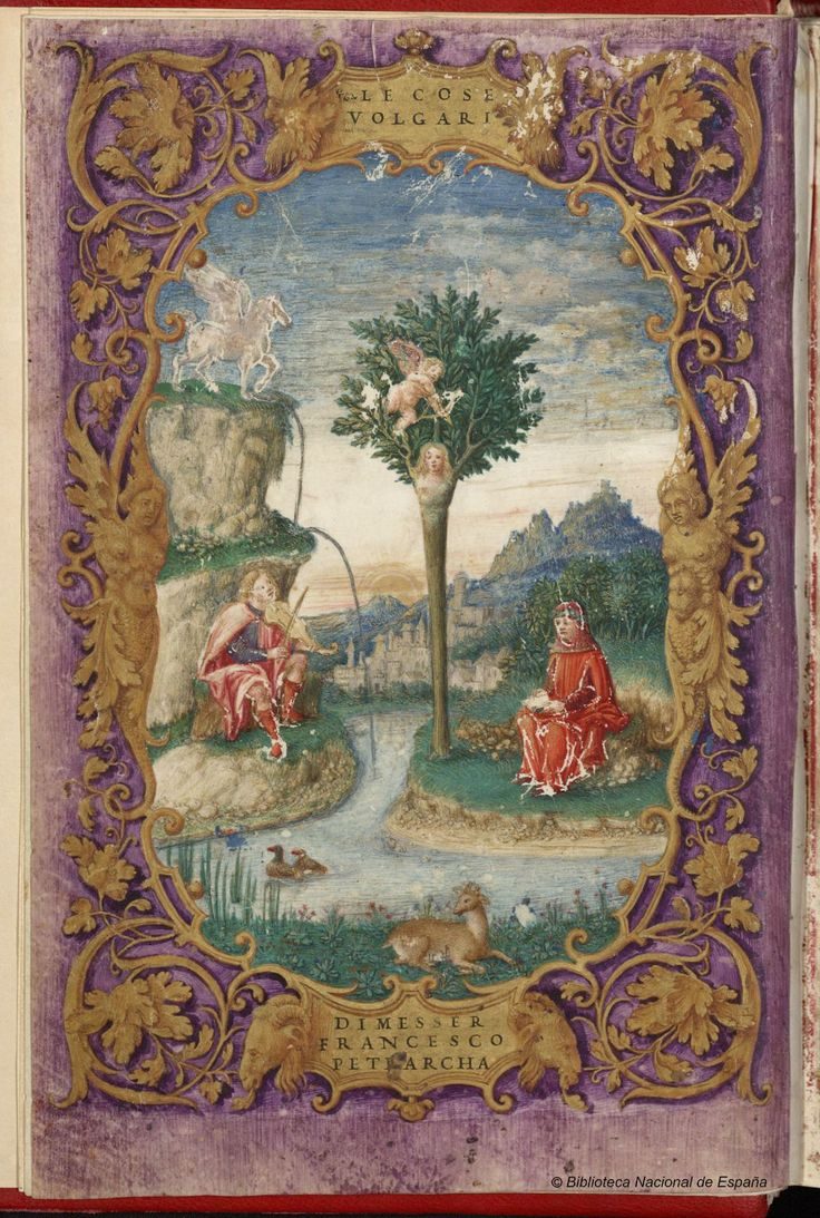 Título Obra poética  Autor Petrarca, Francesco (1304-1374) Petrarca, Francesco-1304-1374-Rime- Petrarca, Francesco-1304-1374-Triumphi- Fecha 1508 Tipo de Documento Manuscrito .     http://bdh.bne.es/bnesearch/CompleteSearch.do?text=&field1val=%22Petrarca%2c+Francesco%22&showYearItems=&field1Op=AND&numfields=1&exact=on&textH=&advanced=true&field1=autor&completeText=&pageSize=1&pageSizeAbrv=10&pageNumber=16