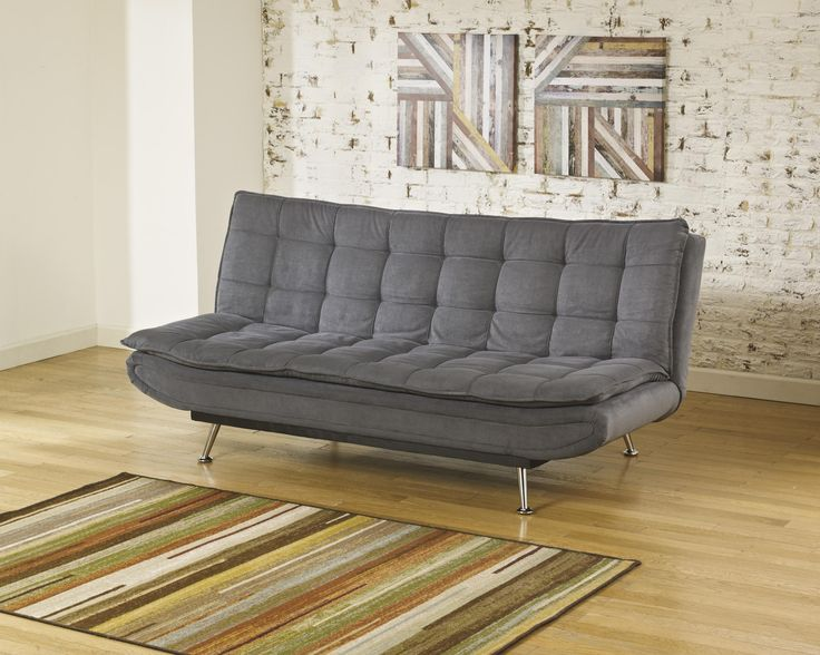 sula charcoal flip flop sofa ashley futons   roselawnlutheran  rh   roselawnlutheran org