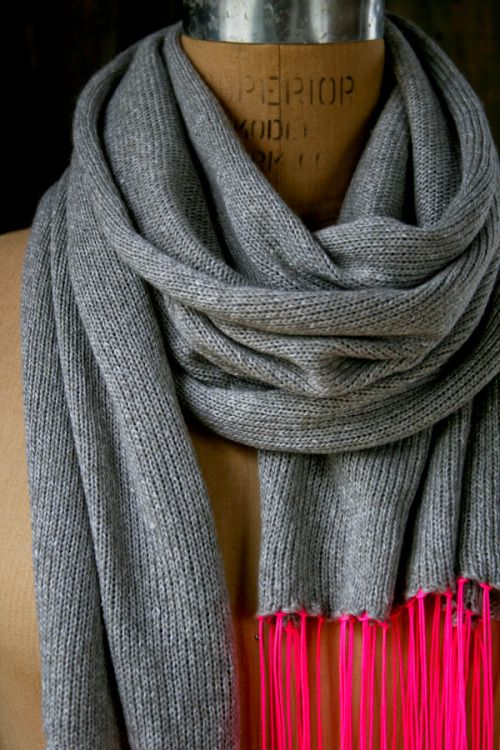 Whits Knits: Beautiful SpringScarf - Purl Soho - Knitting Crochet Sewing Embroidery Crafts Patterns and Ideas!