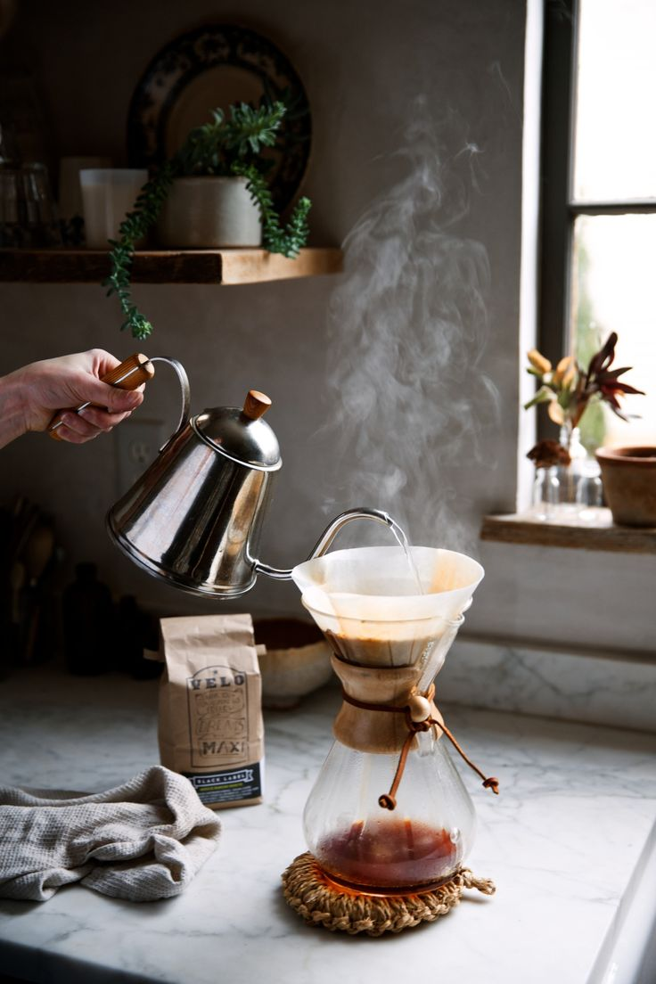 Beth Kirby's Chemex coffee / photo by Olivia Rae James