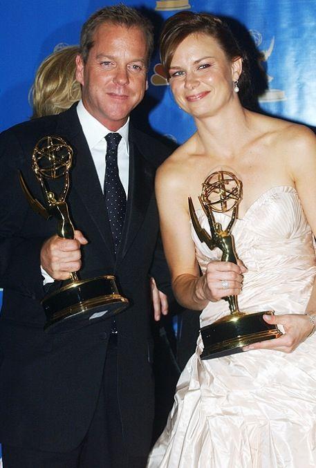 Kiefer Sutherland and Mary Lynn Rajskub | 24's Jack Bauer and Chloe O'Brian.