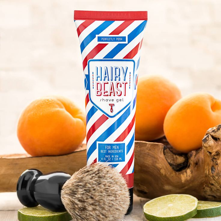 Our sulfate-free shave gel features a manly blend of natural ingredients. Aloe vera and botanical extracts soothe, moisturize, and protect your skin to take you from hairy beast to smooth and suave. Place a quarter-sized dollop of shave gel in hands. $15
