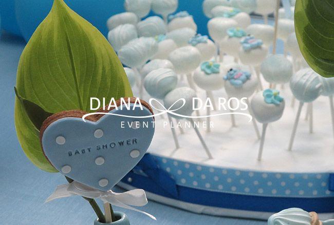 decorazioni-cookie-babyshower - BABY BLUE BABYSHOWER PARTY by Diana Da Ros Event Planner