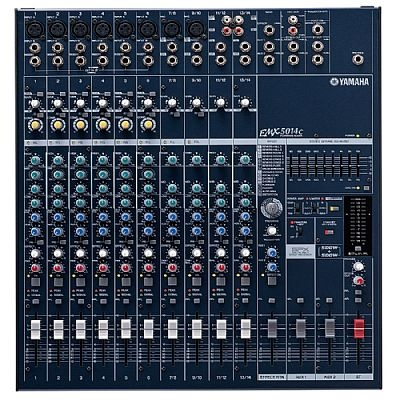 Mesa amplificada analógica Yamaha EMX5014C  www.lojachedas.com.br