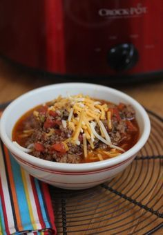 Slow Cooked Homemade Chili without Beans