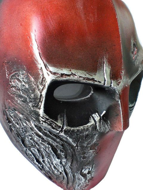 Army of two Airsoft BB Gun Prop Helmet Rios Costume Cosplay Goggle Mask Maske Masque R Red MA56