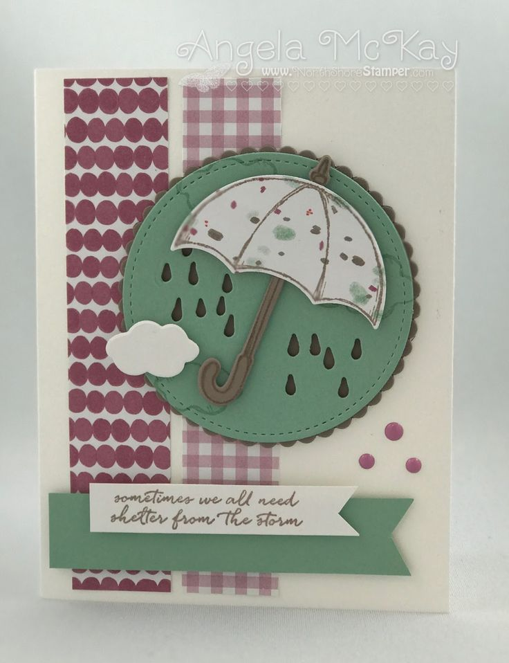 Can't believe that Sale-abration is over... needed a card to chase away the rain:(  LOVE this Weather Together Bundle though... definitely...