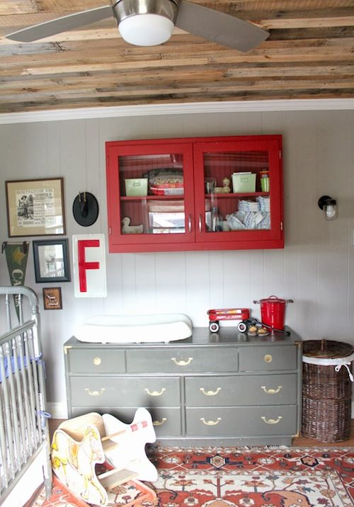 Nursery. From the Living With Kids Home Tour featuring Kat Hertzler.