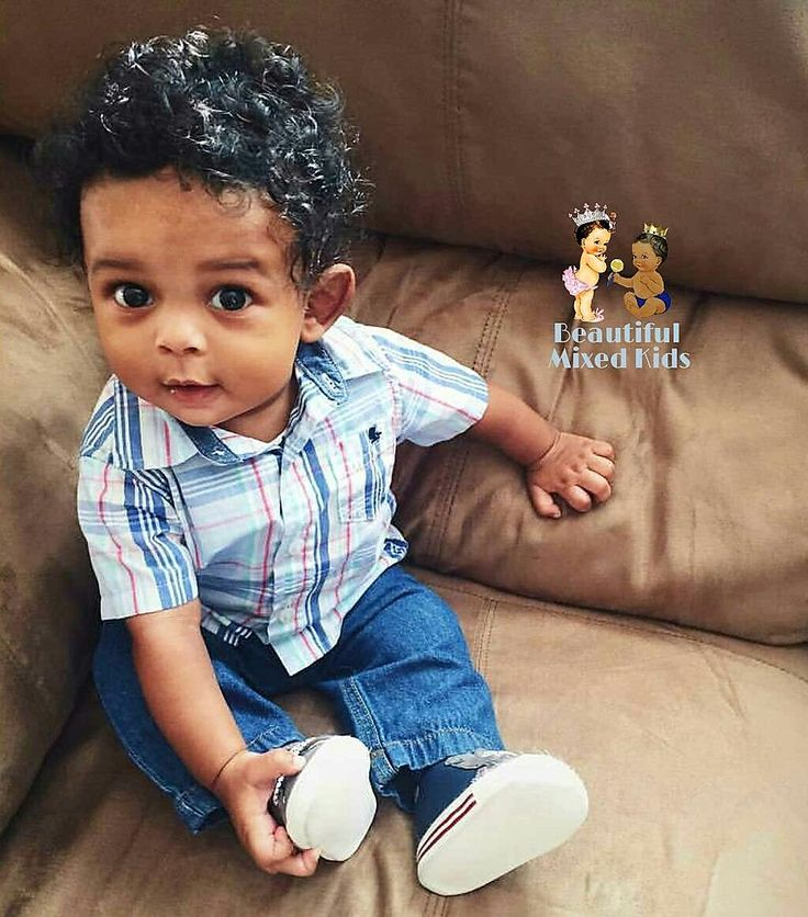 Neiko - 6 Months • Black (American) & Indian (Trinidadian) ❤