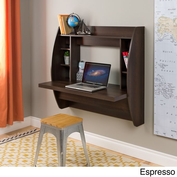 Floating Desk with Storage | Overstock.com Shopping - Great Deals on Prepac Desks